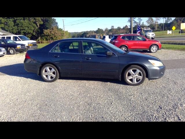 2007 Honda Accord EX-L V-6 Sedan 6-Speed with Navigation