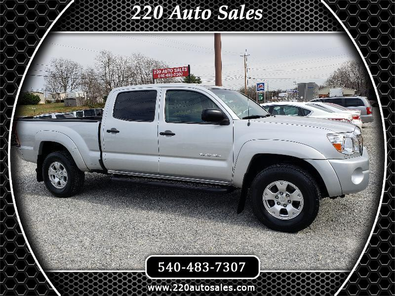 2008 Toyota Tacoma 4WD Double Cab V6 AT SR5 (Natl)