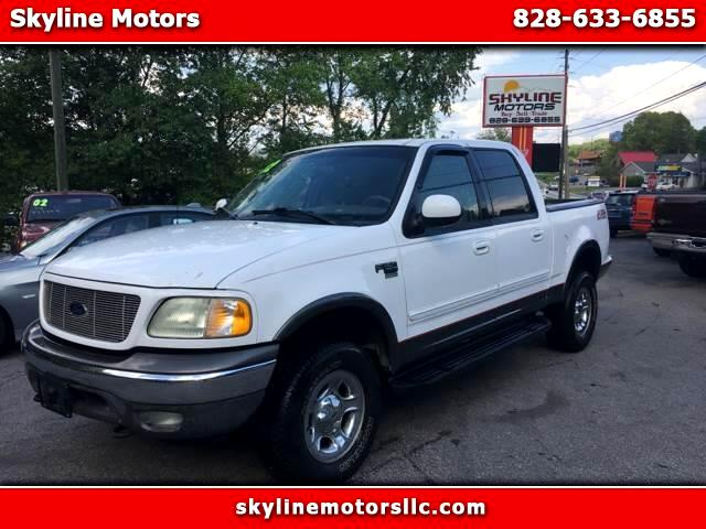 "2002 Ford F-150 4WD SuperCrew 150"" FX4"