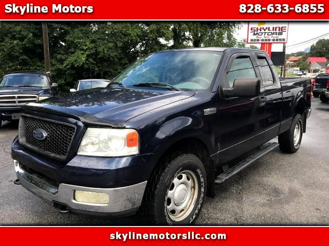 2004 Ford F-150 4WD SuperCab 145