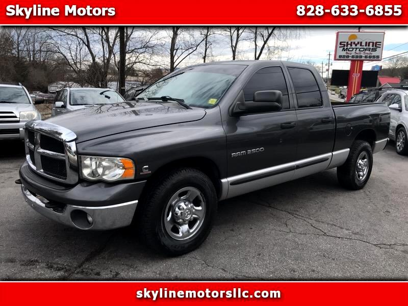 2003 Dodge Ram 2500 SLT Quad Cab Short Bed 2WD