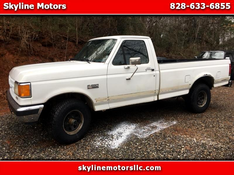 1990 Ford F-150 Reg. Cab Long Bed 4WD