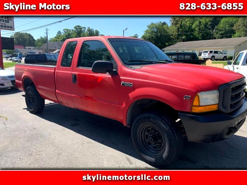 Ford F-250 SD XL SuperCab Short Bed 4WD 2000