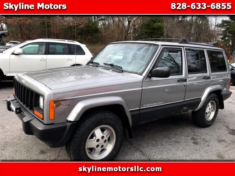 Jeep Cherokee Sport 4-Door 4WD 2000