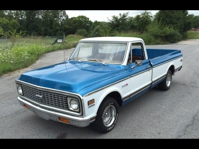 1971 Chevrolet Cheyenne 1/2 Ton Long Bed