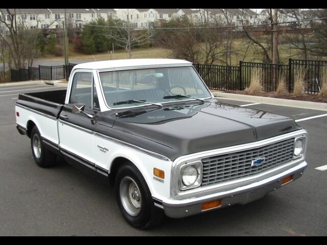 1972 Chevrolet C10 Custom Deluxe Short Bed