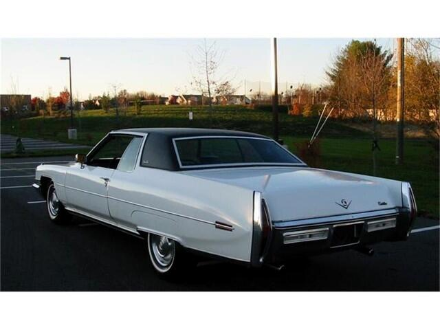 1972 Cadillac Coupe De Ville Two Door Hardtop