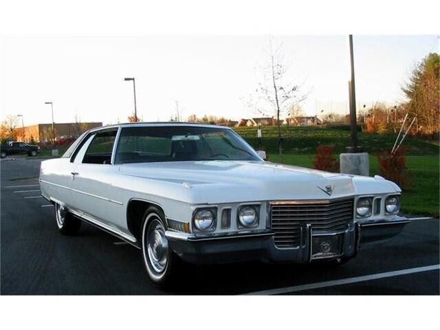 Cadillac Coupe De Ville  1972
