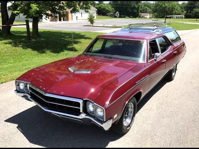 1969 Buick Sport Wagon Three Seat Wagon