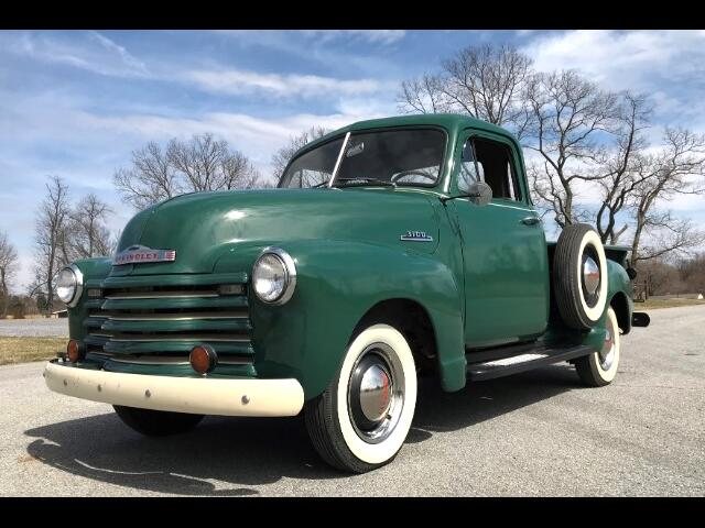 1953 Chevrolet 3100 Five Window Short Bed Pick Up