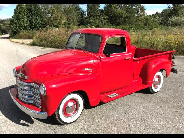 1950 Chevrolet 3100 Three Window Short Bed P/U