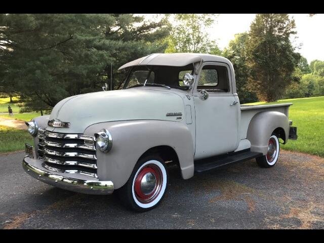 1950 Chevrolet 3100 Three Window Short Bed Pick Up