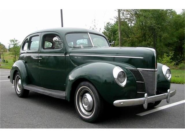 1940 Ford Deluxe Four Door Sedan
