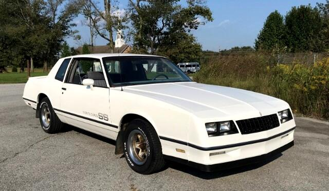 1984 Chevrolet Monte Carlo 2dr Coupe Sport SS