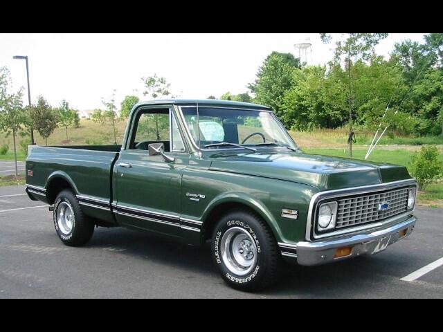 1971 Chevrolet 1/2 Ton Pickups