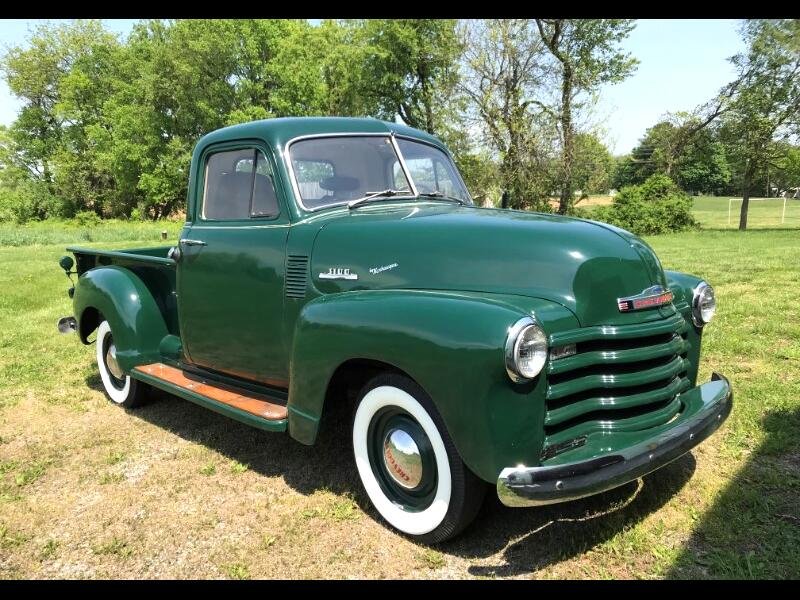 1953 Chevrolet 3100 Three Window