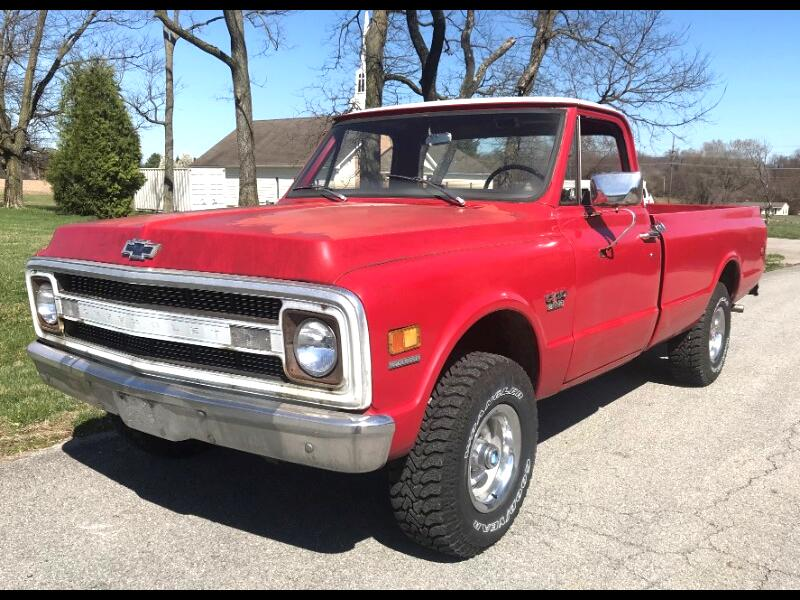 "Chevrolet 1/2 Ton Pickups Fleetside 131.5"" WB 4WD 1970"