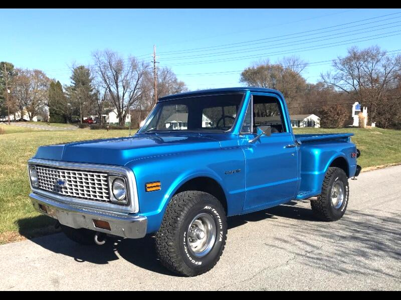 Chevrolet C/K 10 Regular Cab 4WD 1972