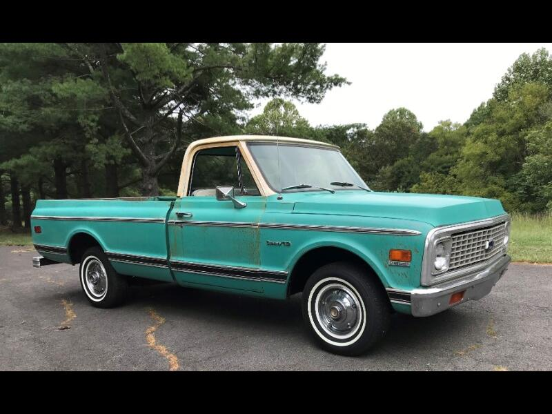 Chevrolet C/K 10 Regular Cab 2WD 1972