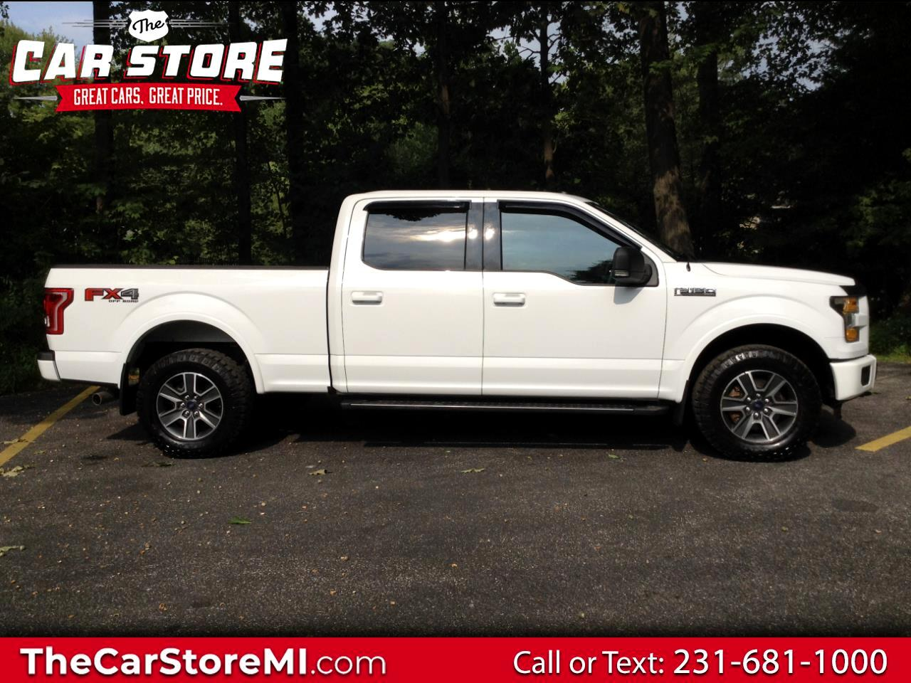 "Ford F-150 4WD SuperCrew 157"" FX4 2016"