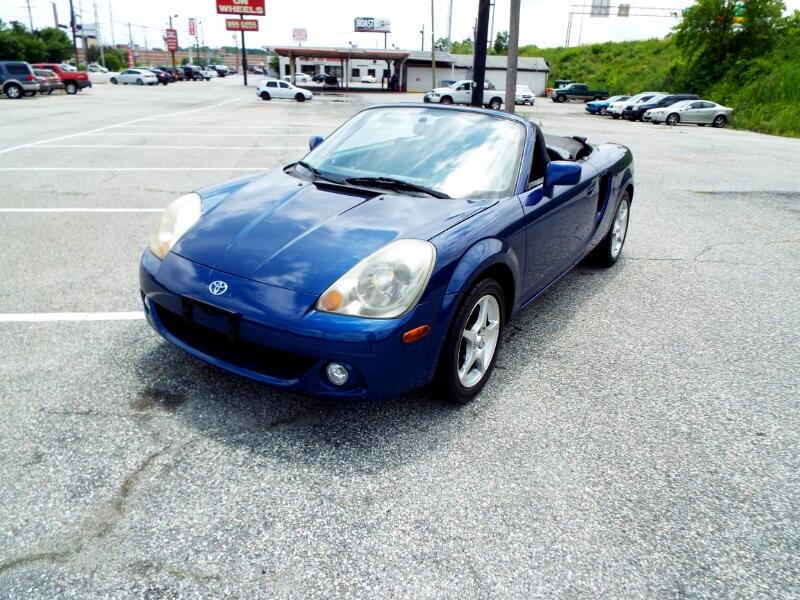 2003 Toyota MR2 Spyder Convertible