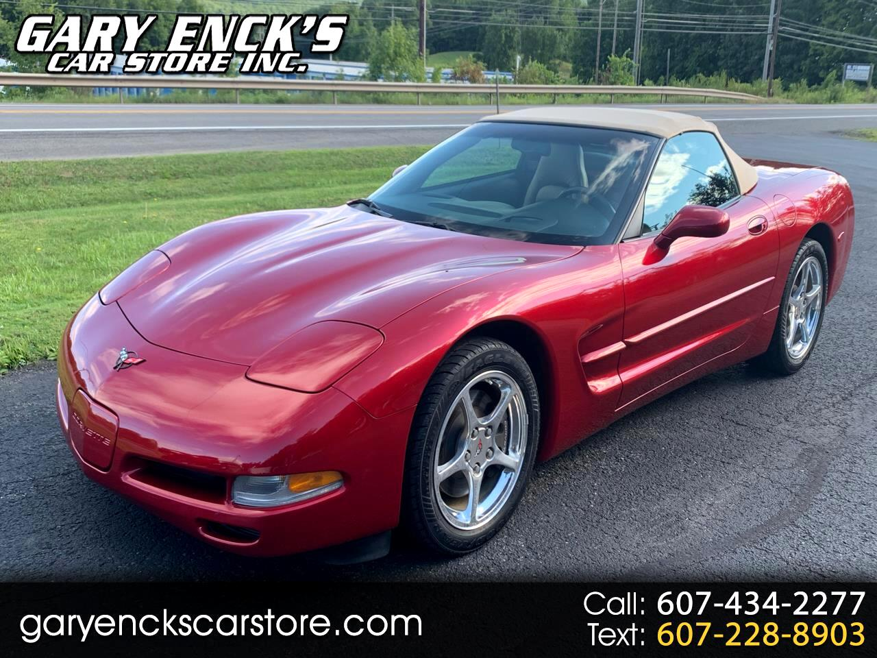 Chevrolet Corvette Convertible 2001