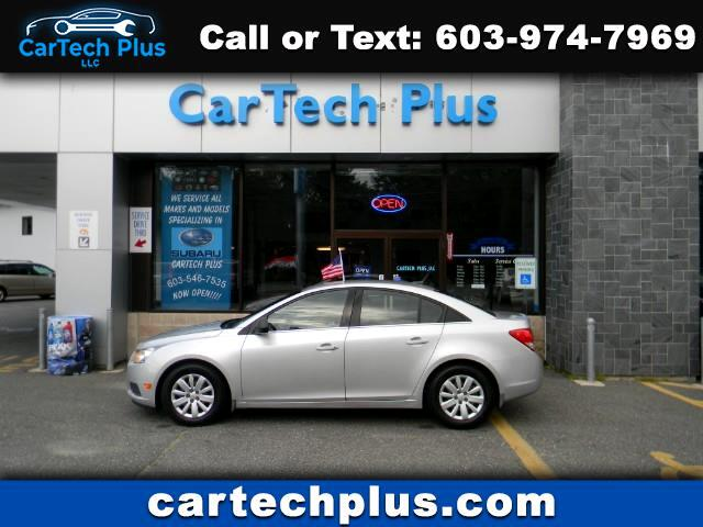 2011 Chevrolet Cruze 2LS COMPACT GAS SIPPING SEDANS