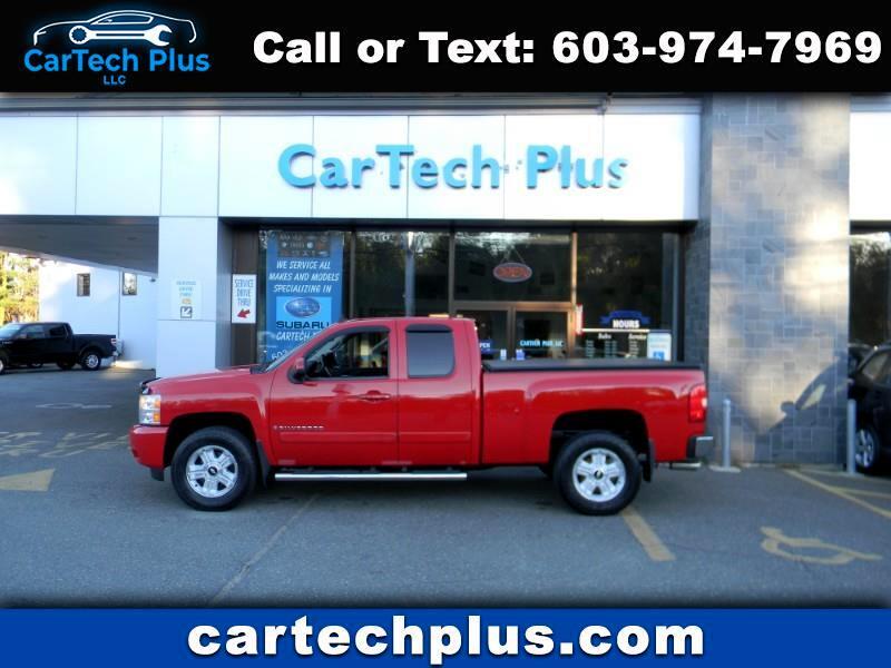 2008 Chevrolet Silverado 1500 LTZ EXT. CAB 4WD 5.3L V8 PICK-UP TRUCKS