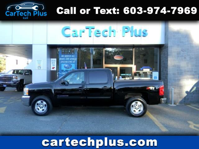 2013 Chevrolet Silverado 1500 LT CREW CAB 4WD 5.3L V8 GAS TRUCKS