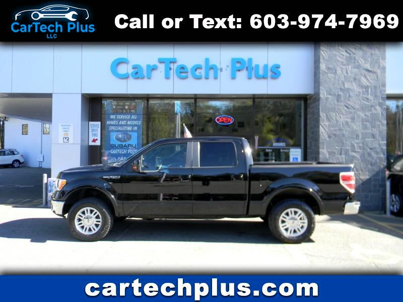 2009 Ford F-150 SUPERCREW LARIAT 4WD 5.4L V8 GAS TRUCKS