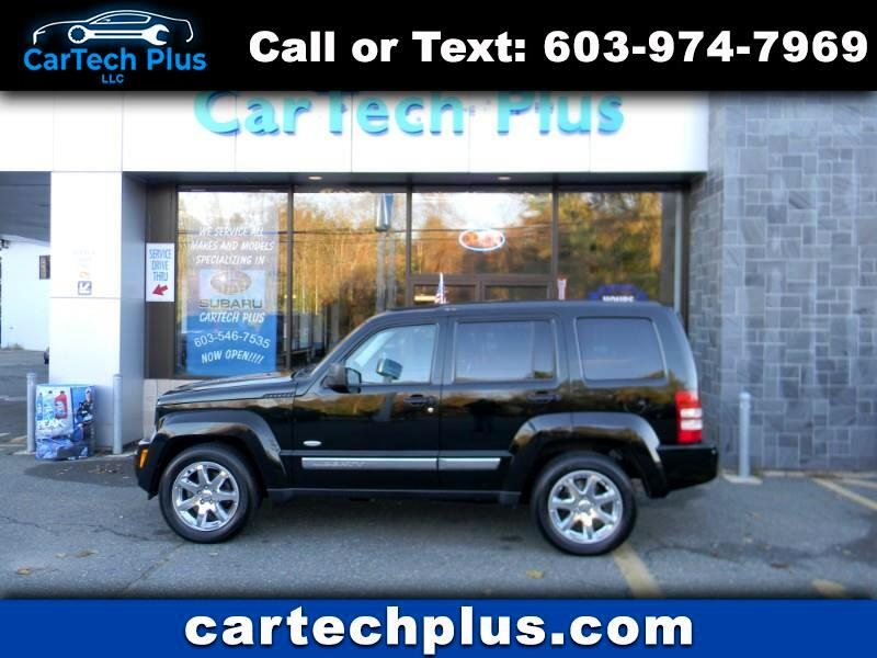 2012 Jeep Liberty SPORT 4WD MID-SIZE 6 CYL. SUV'S