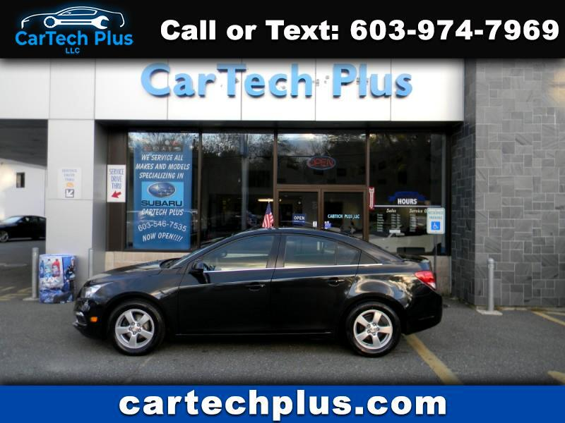 2015 Chevrolet Cruze LT GAS SIPPING SEDANS