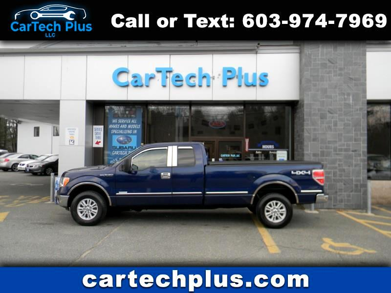 2012 Ford F-150 XLT EXT. CAB W/ 8 FT. BED 4WD ECOBOOST TRUCKS