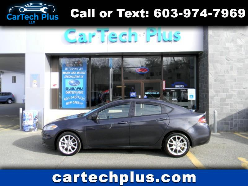 2013 Dodge Dart SXT TURBO MANUAL TRANSMISSION SPORTS SEDAN