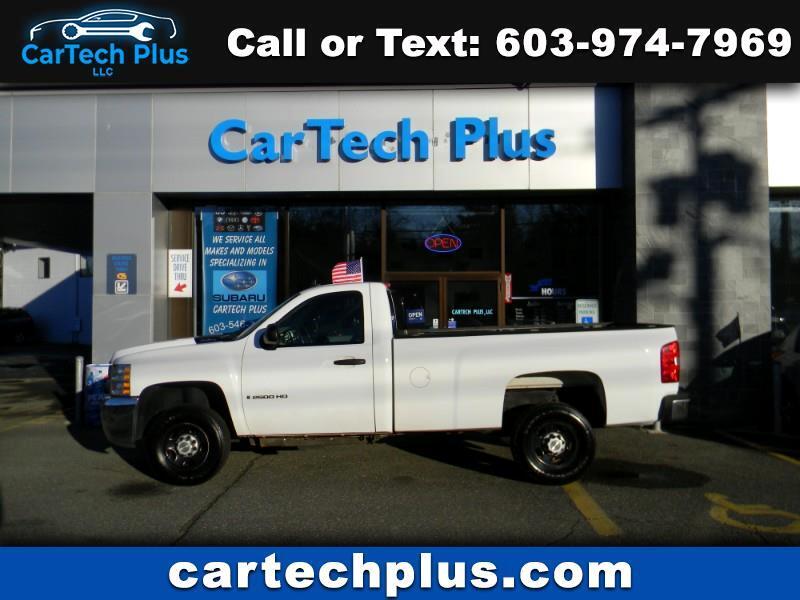 2008 Chevrolet Silverado 2500HD LT1 2WD REGULAR CAB WITH 8' BED 3/4 TON TRUCKS