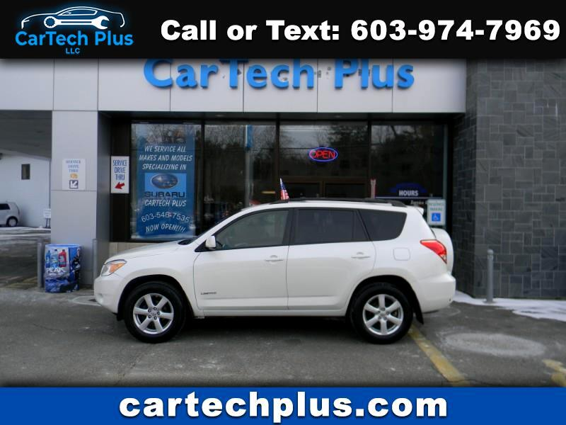 2007 Toyota RAV4 LIMITED 4WD 4 CYL. COMPACT SUV