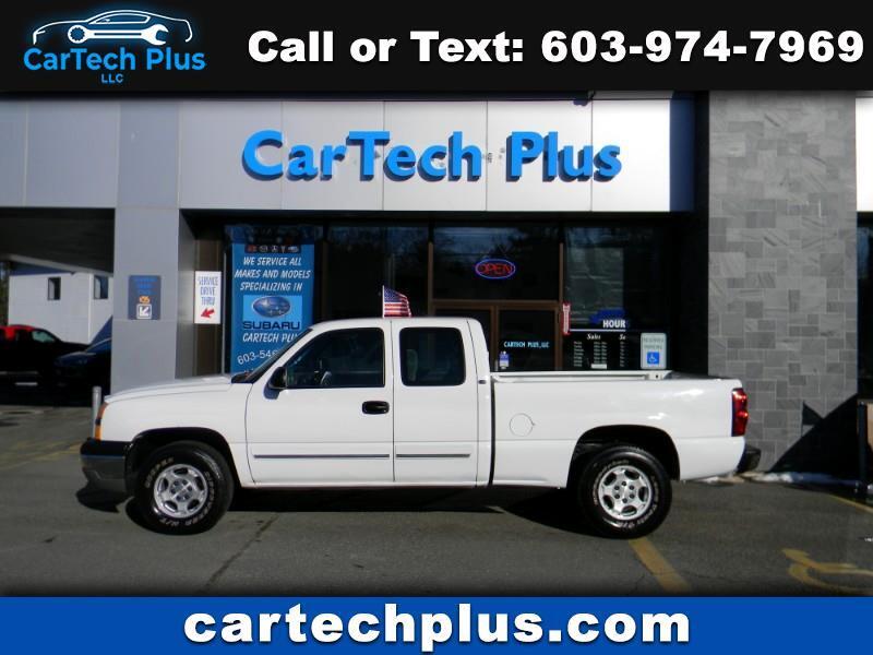 2004 Chevrolet Silverado 1500 4WD LS EXT. CAB SHORT BED 5.3L V8 TRUCK