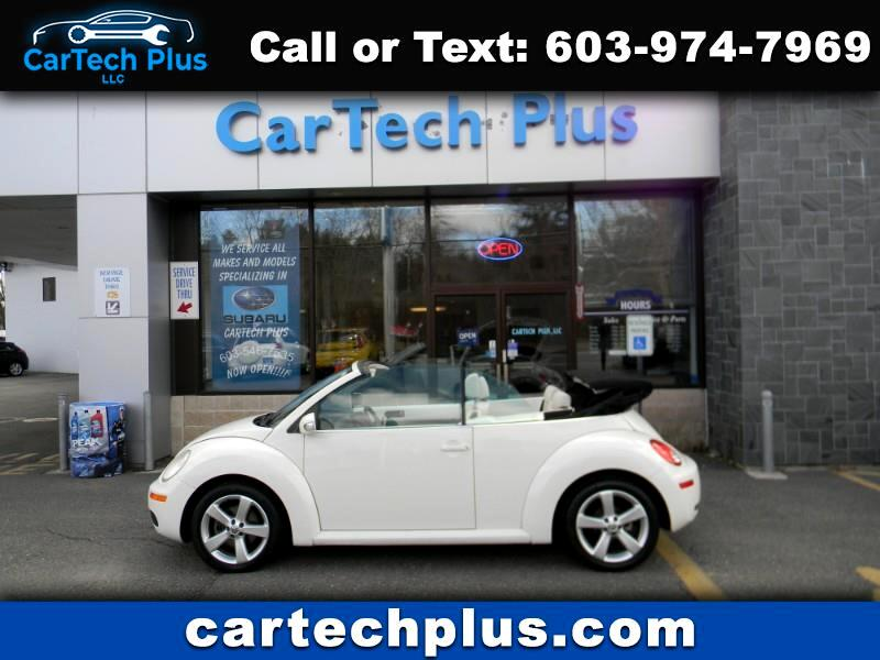 2007 Volkswagen New Beetle 2.5L TRIPLE WHITE CONVERTIBLE
