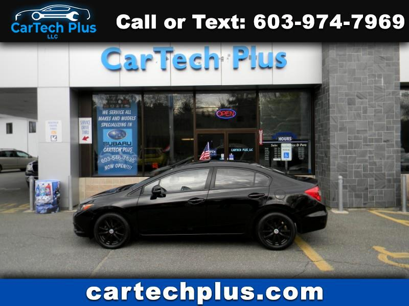 2012 Honda Civic EX-L GAS SIPPING AUTOMATIC SEDAN