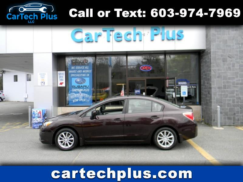 2012 Subaru Impreza PREMIUM 4DR SEDAN W/ ALL WEATHER PKG.