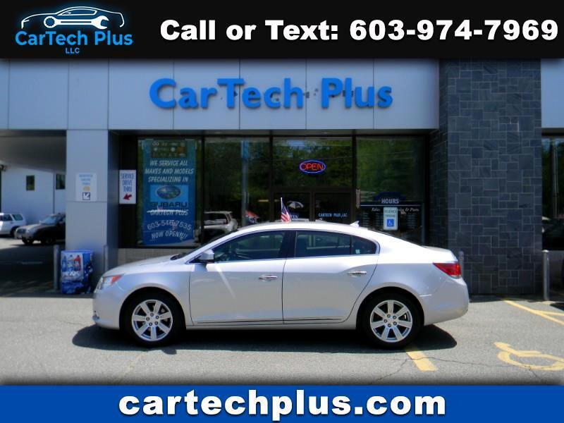 2012 Buick LaCrosse 3.6L V6 LUXURY SEDAN WITH PREMIUM PACKAGE 1