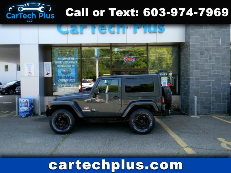 2008 Jeep Wrangler 2DR SAHARA 4WD WRANGLER WITH HARD TOP