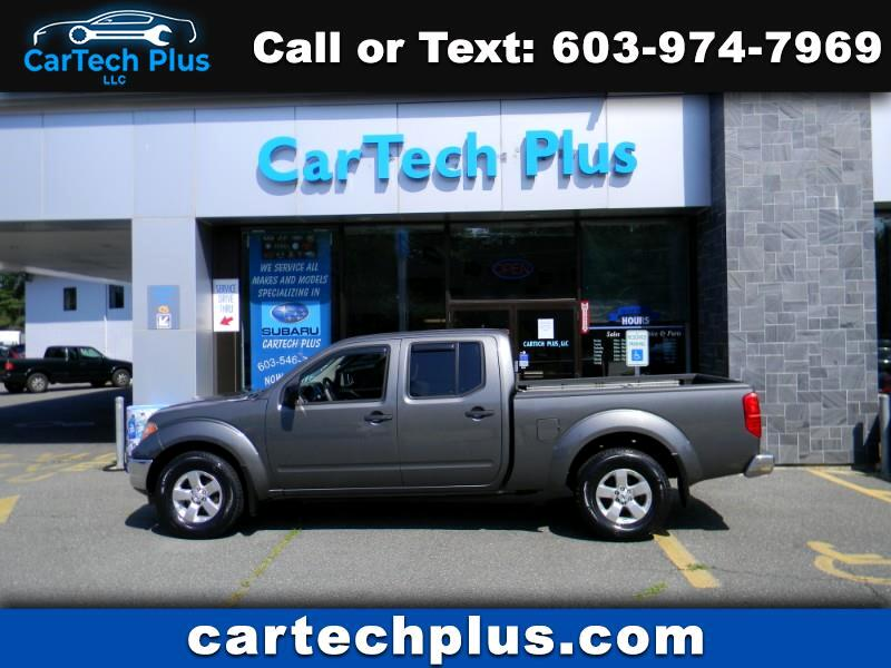 2009 Nissan Frontier SE CREW CAB 4WD MID SIZE TRUCK WITH 6' BED