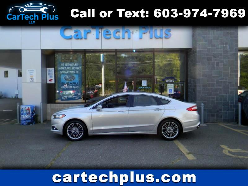 2013 Ford Fusion SE ECOBOOST 2.0L GAS SIPPING SEDAN