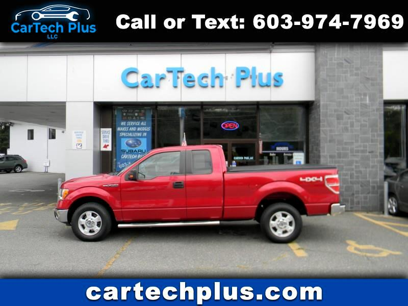 2010 Ford F-150 XLT EXT. CAB 5.4L V8 4WD TRUCK