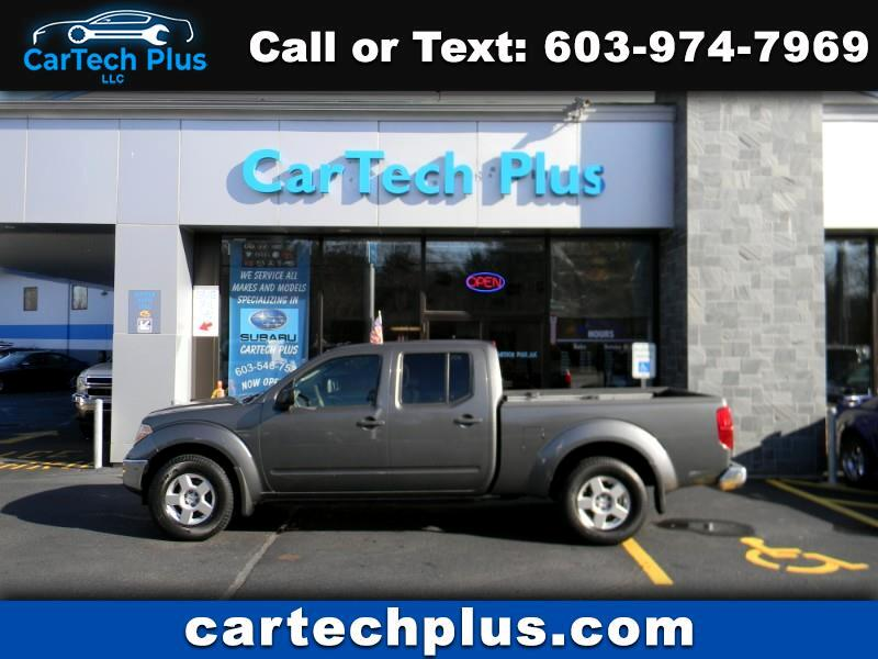 2008 Nissan Frontier SE CREW CAB MID SIZE 4WD TRUCK WITH 6' BED