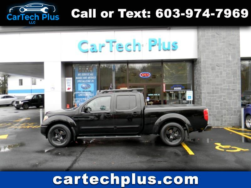 2008 Nissan Frontier 4WD CREW CAB LE 4.0L V6 WITH 6' BED