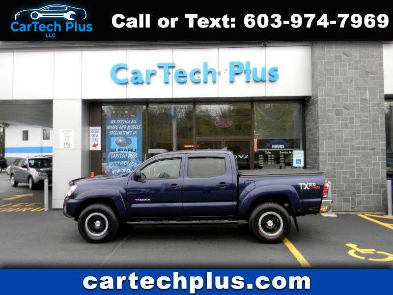 2012 Toyota Tacoma 4WD CREW CAB 4.0L V6 WITH 5' BED