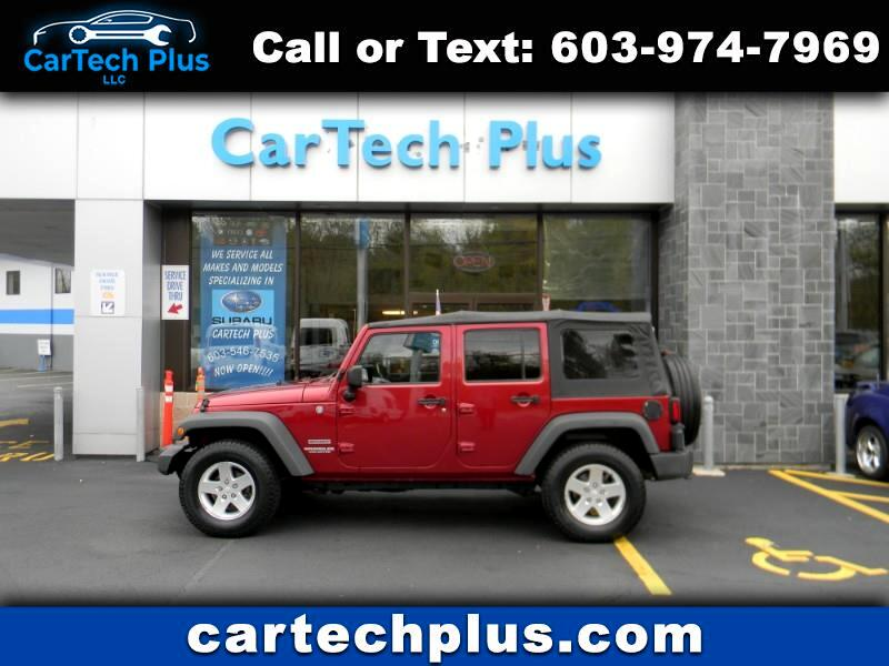 2011 Jeep Wrangler UNLIMITED SPORT 4WD AUTOMATIC 4D WRANGLER