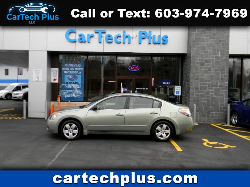 2008 Nissan Altima 2.5L 4 CYL. MID-SIZE GAS SIPPING SEDAN